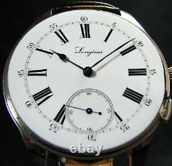 Mariage Antique De Luxe Pour Hommes Cadeau 1900 Grand Acier Wristwatch Porcelaine Tchat