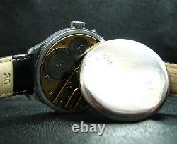 Montre-bracelet De Luxe Pour Homme Antique De Calibre 65of Grand Pilote De La Seconde Guerre Mondiale
