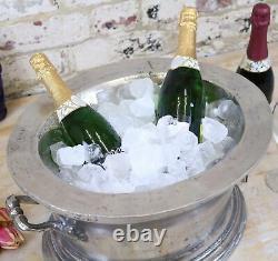 Nanda Champagne Grande Ice Bucket Isolée Refroidisseur À Vin Vintage