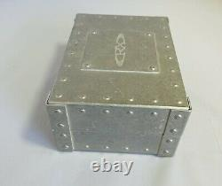 Oakley X-metal Vault Rx X-large Lunettes De Soleil Sales Rep Case Lens Box Studded Vault