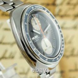 Original Seiko 6138-0011 Ufo Retro Chronograph Grande Date Automatique Quickset Day