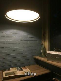 Plafond Industriel Vintage De Lampe De Pendentif Accrochant Le Grand Entrepôt D'usine De Lumière