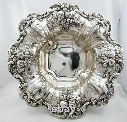 Reed & Barton Francis I Vintage Extra Large Sterling Silver Bowl/ Plat, No Mono