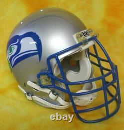Seattle Seahawks Rejeunback Vintage Casque De Football Plein Format Personnalisé Bike/schutt
