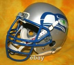 Seattle Seahawks Retour Vintage Personnalisé Complet Casque De Football Bike / Adams