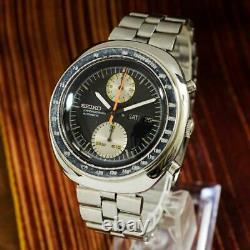Tous Les Originaux Seiko 6138-0011 Ufo Chronograph Grande Date Automatique Quickset Jour