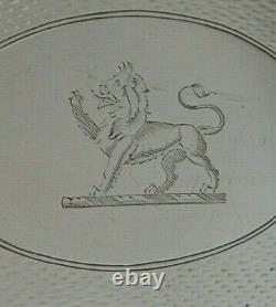 Tray De La Famille Créée 1910 Antique 368g