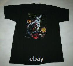 Vintage 1991 Marvel Comics Silver Surfer T Shirt Rare Vgc Size Large Stan Lee