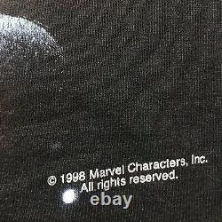 Vintage Années 90 Marvel Comics Personnages Silver Surfer T Shirt Taille Grande 1998