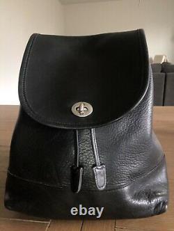 Vintage Coach Grand Daypack Noir