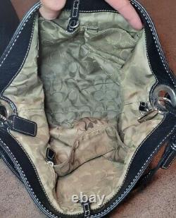 Vintage Coach Pebble Shoulder Leather Bucket Sac Sac À Main Sac À Main 5715 Hobo