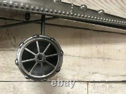 Vintage Grande Horloge D'avion Superbe Chambre À Coucher Disposent Énorme 200cm Wing Span