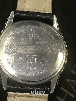 Vintage John Hardy Large Silver 925 Montre Modèle 5874