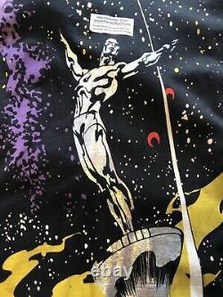 Vintage Marvel Mega Imprimer T Shirt Silver Surfer 1994 Brand New
