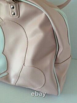 Vintage Playboy Bunny Grand Purse Rose Blanc Playboy Sac À Main Duffle Bag