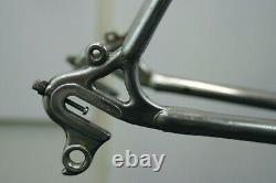 Vista Silver Shadow Vintage Bike Frame Japonais Lugged Dura Ace 1977 Charité