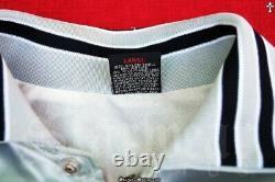 Vtg 80s Michael Jackson Thriller Cbs Records Tour Crew Promo Satin Jacket Sz M L