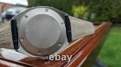 Zenith XL Tronic Vintage Watch Excellent État Grand Boîtier 40mm Inoxydable